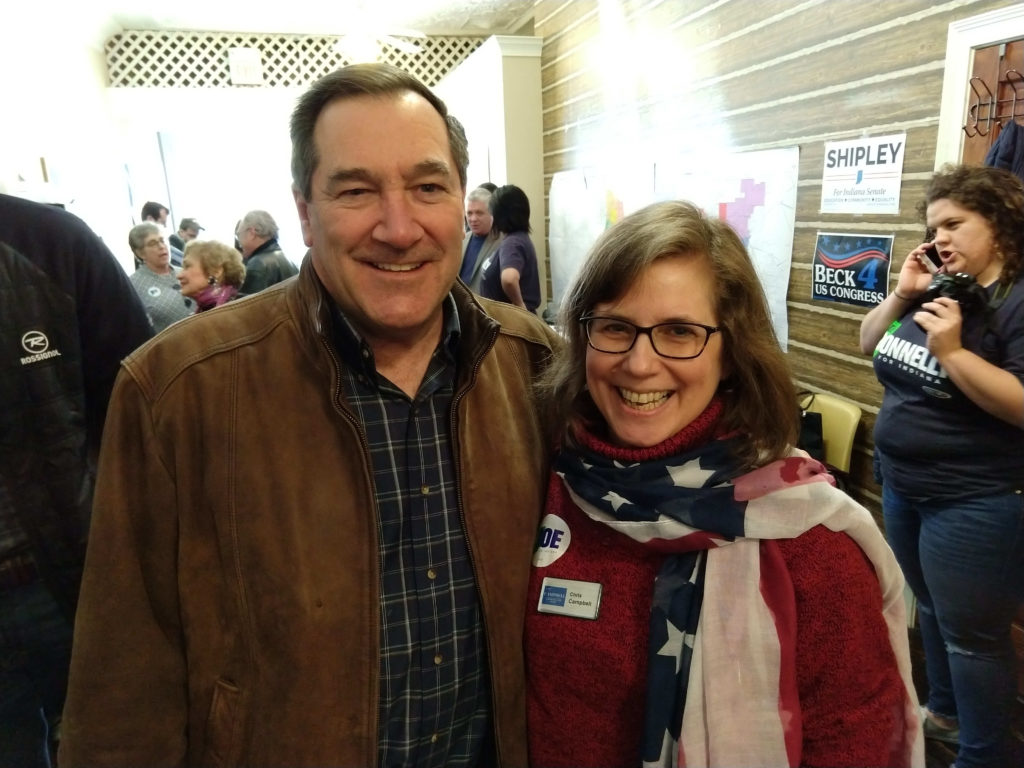 With Sen Joe Donnelly