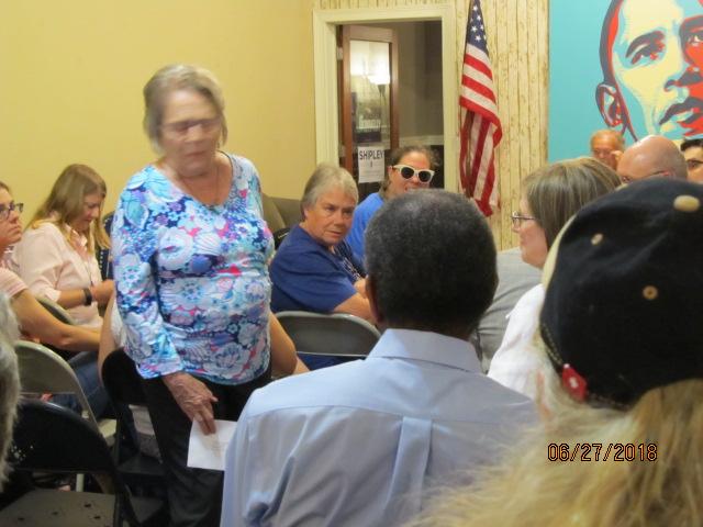 Sonya Margerun Intro at Caucus